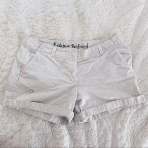 J. Crew Broken-In Boyfriend Shorts